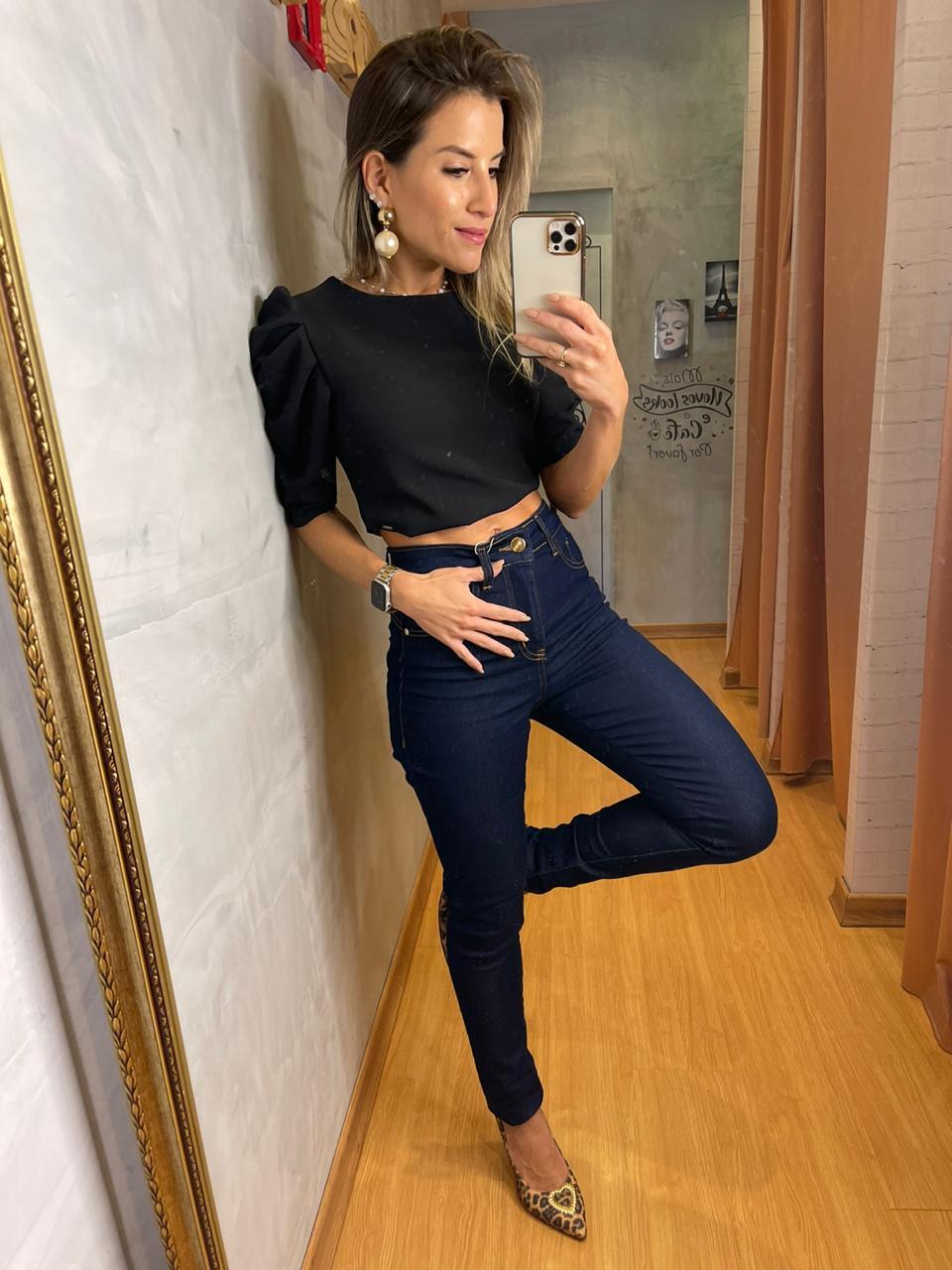 Calça Sly jeans chapa barriga - Skinny