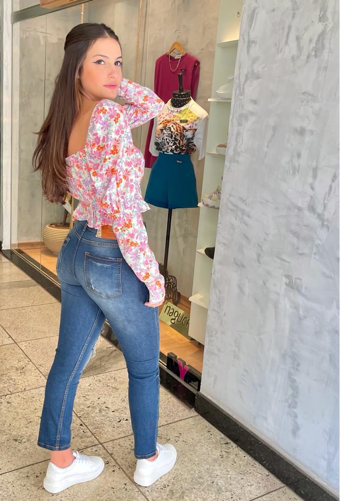 Calça Sly jeans destroyed