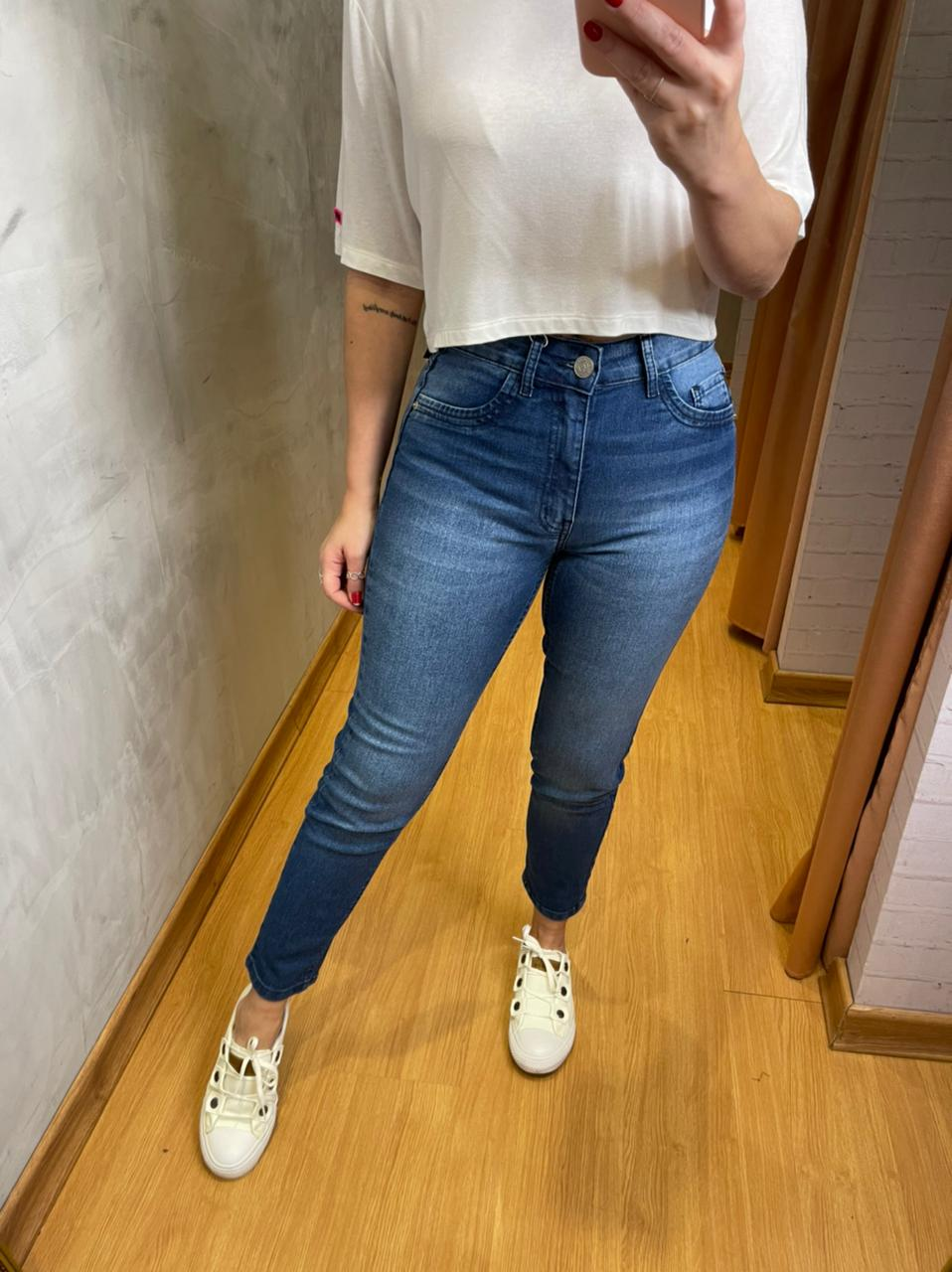 Calça Sly jeans skinny soft