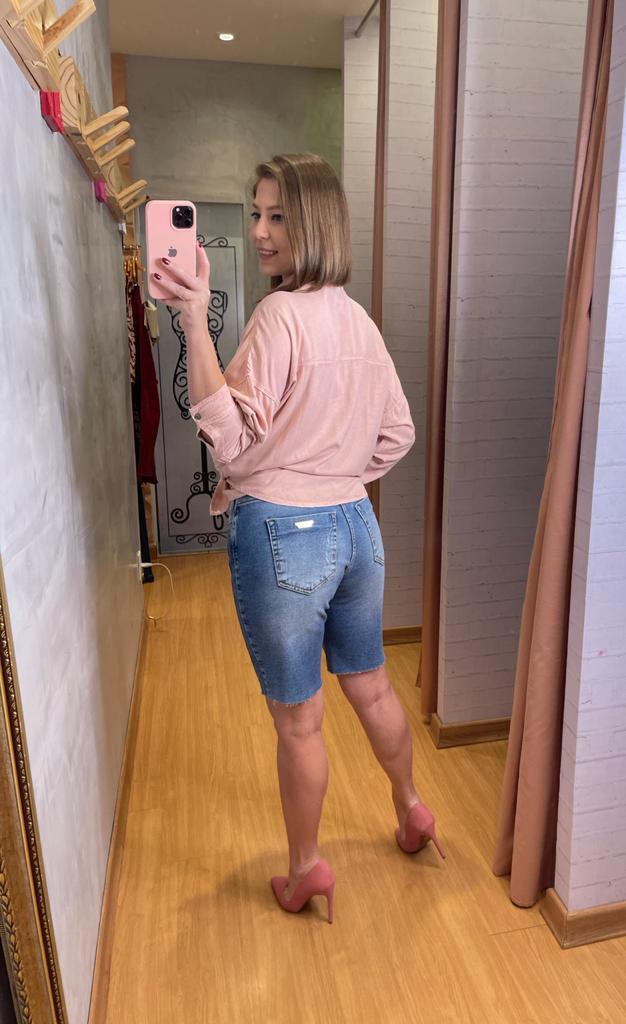 Camisa Myft tencel manga longa