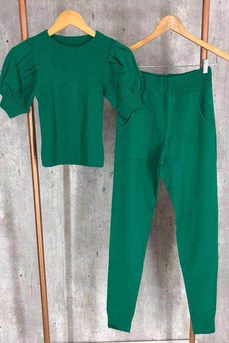 Conjunto tricot - Lua