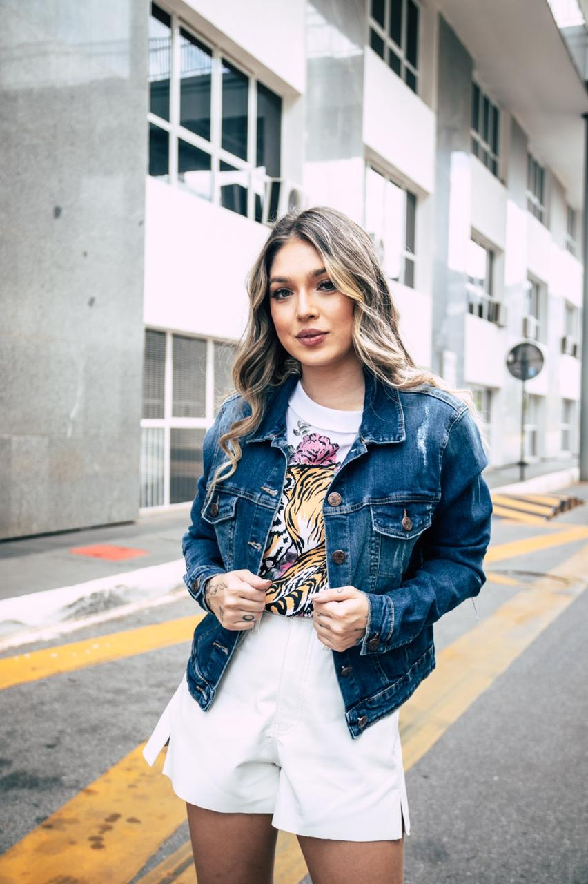 Jaqueta Sly jeans super elastano premium
