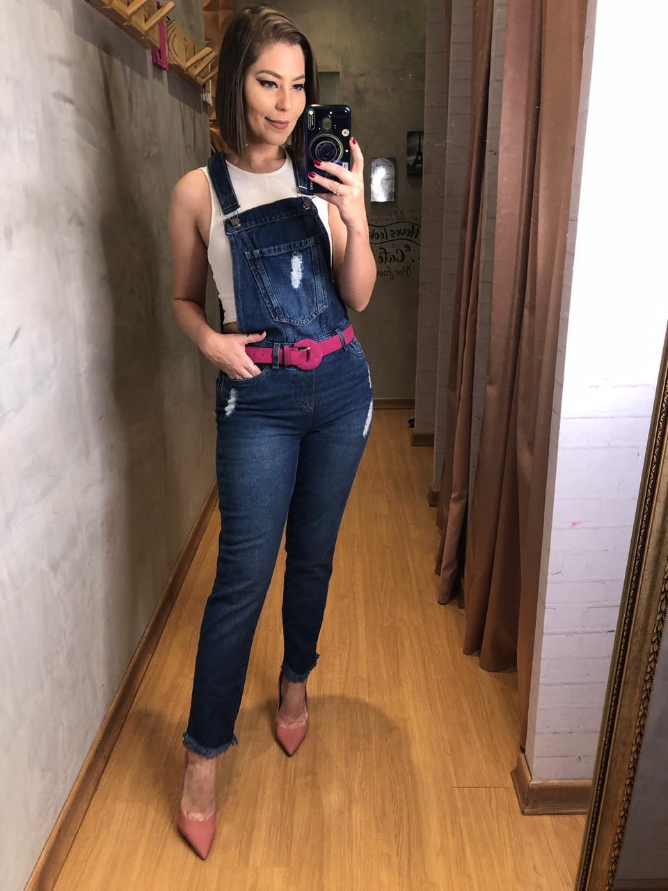 Macacão jeans Mila