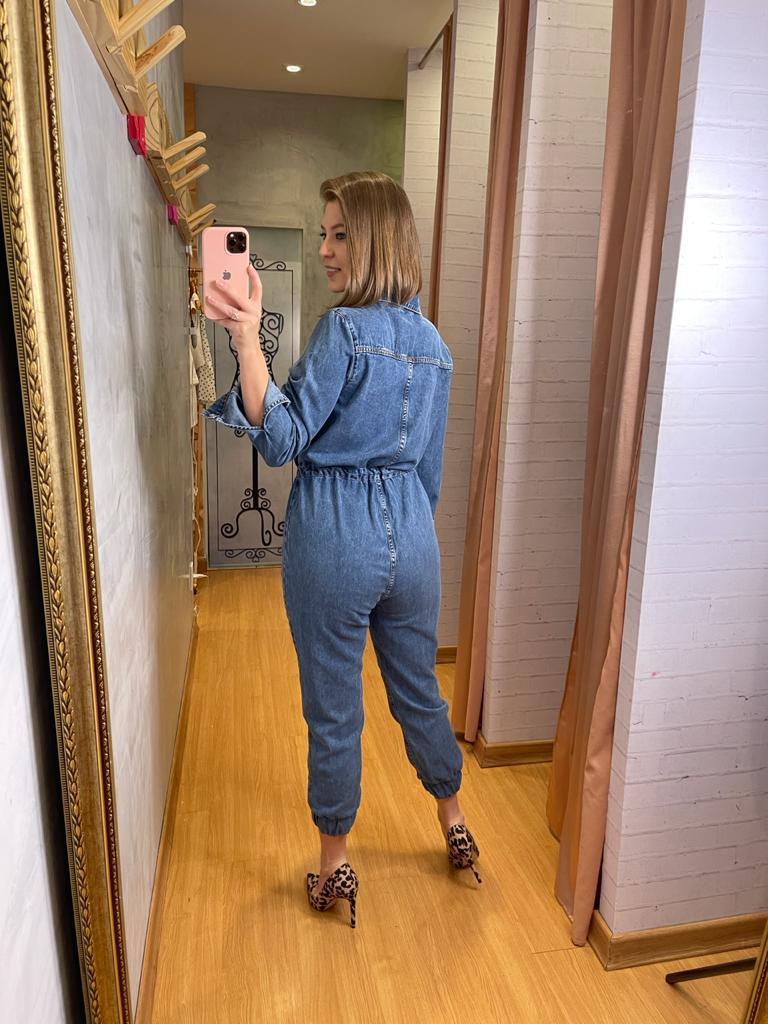 Macacão Myft Comfort jeans