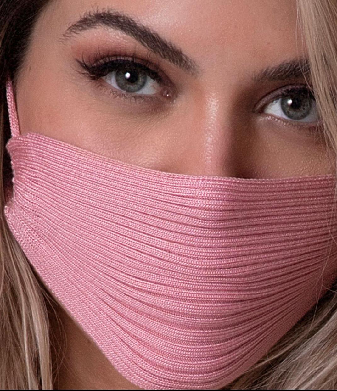 Máscara tricot Celebridades