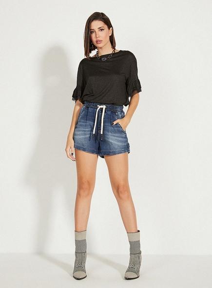 Short Open jeans Confort