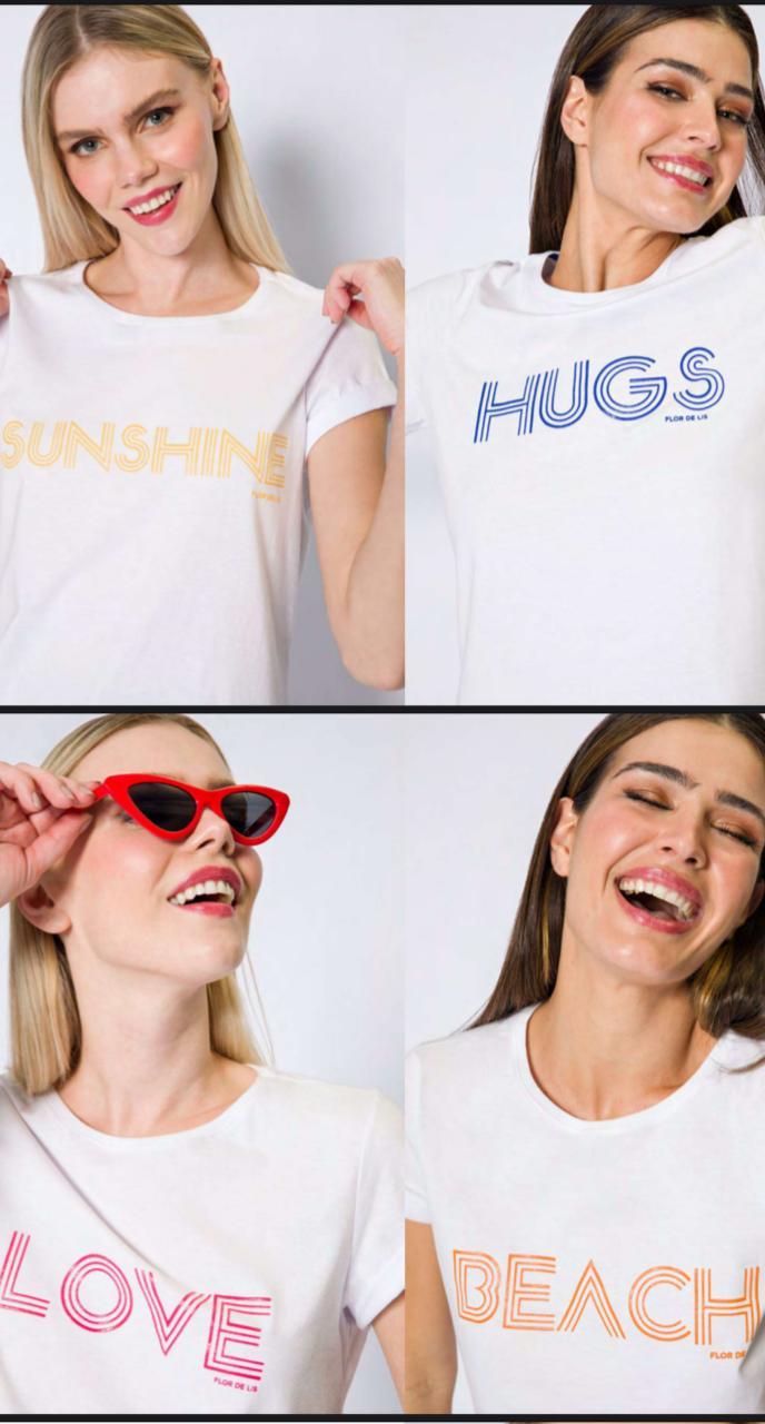 T-shirt flor de lis Celebration