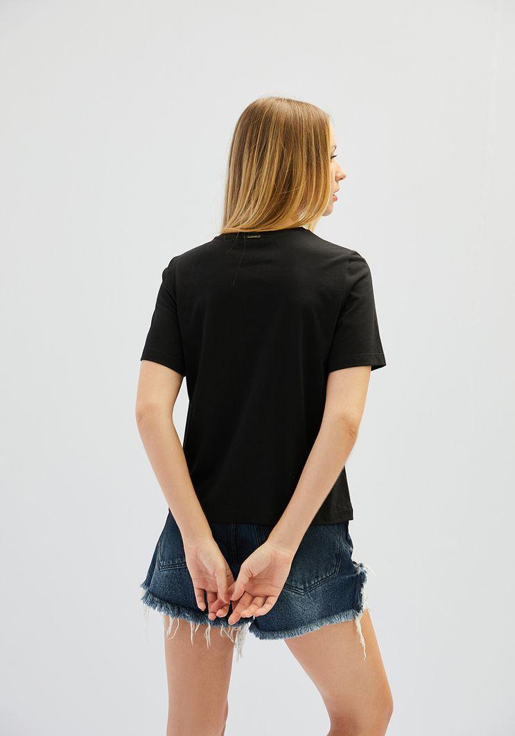 """T-Shirt Myft """"Adict me"""" decote redondo"""