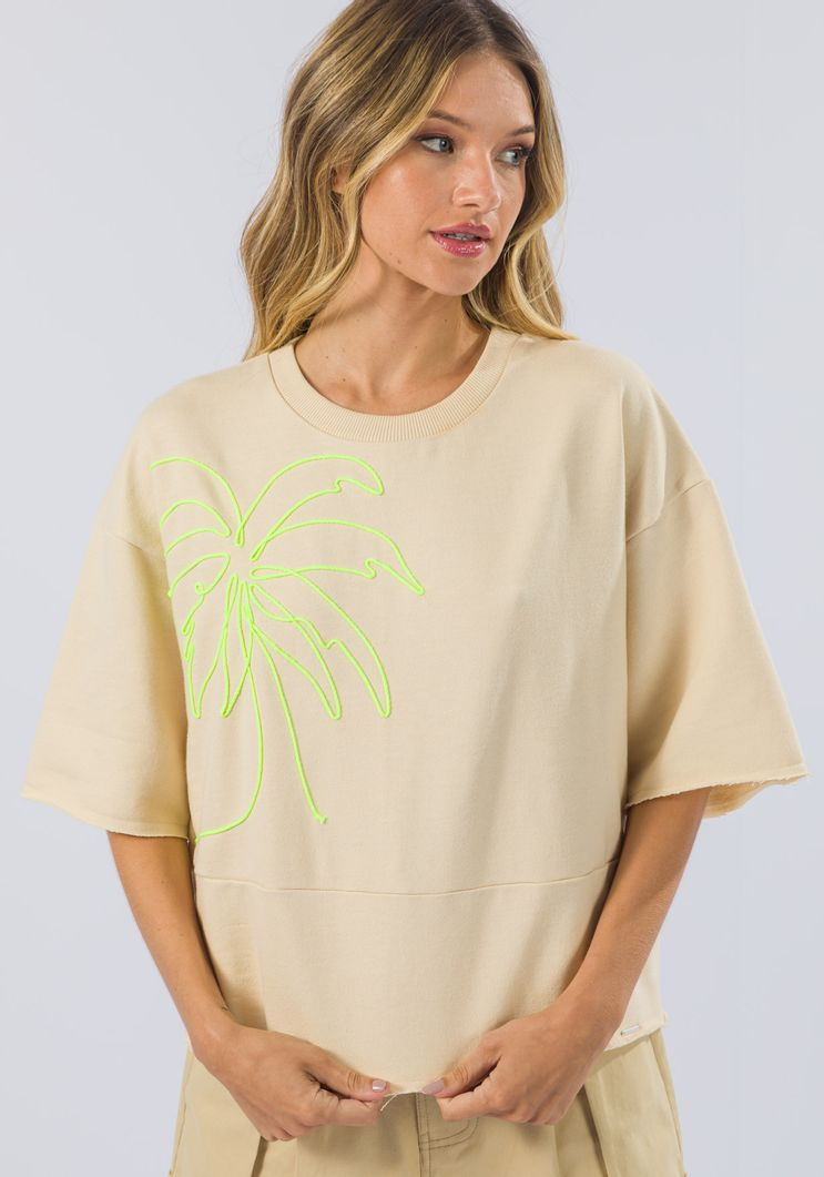 T-Shirt Myft moletom coqueiro