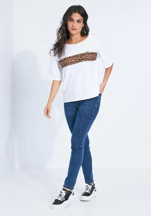 T-shirt Myft onça