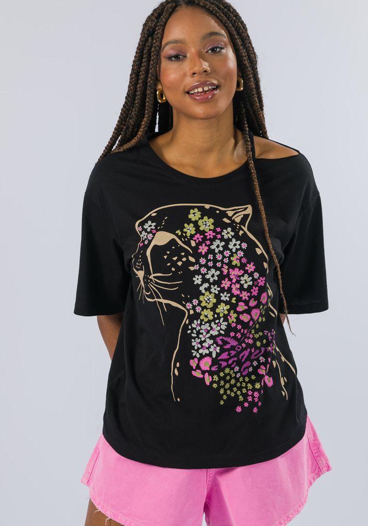 T-shirt Myft onça florida