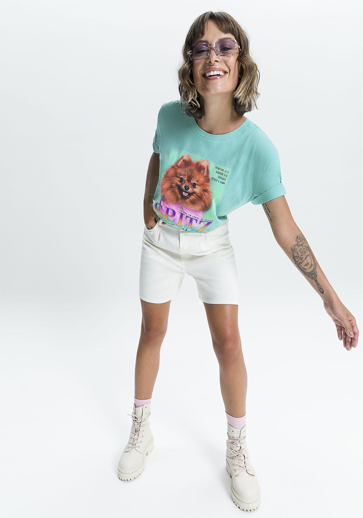 T-Shirt Myft Spitz alemão