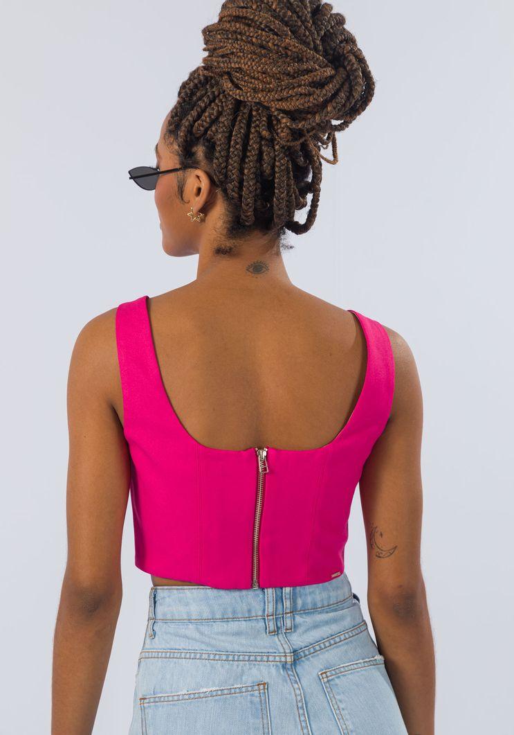 Top Myft corselet de alças
