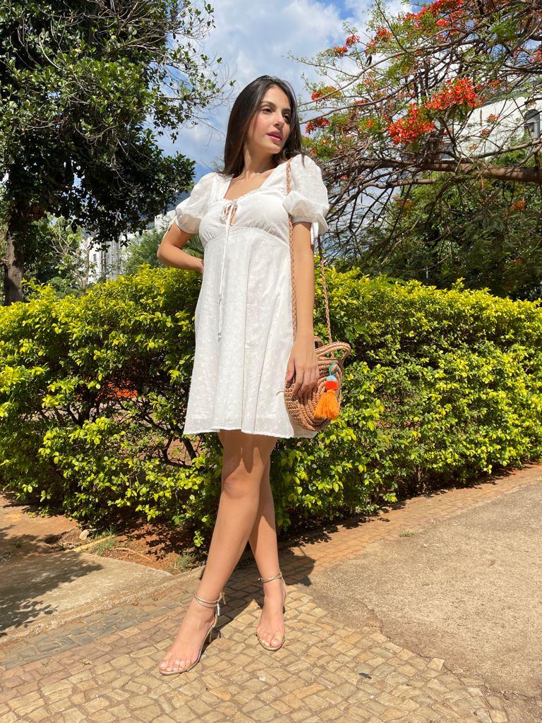 Vestido All is love cambraia
