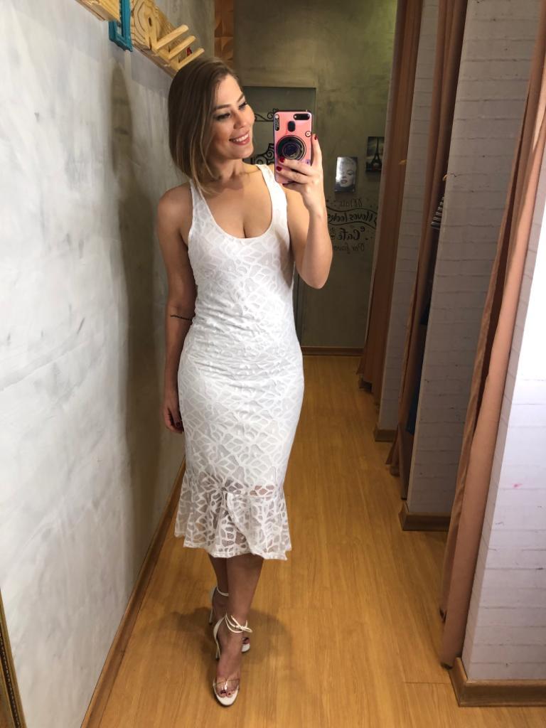 Vestido ana hickmann em renda havana