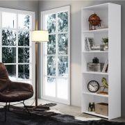 Armário Livreiro Multiuso Grande Branco - Art In Móveis