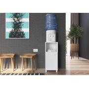 Balcão Multiuso com Porta Milena Branco - Art In Móveis