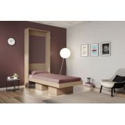 Cama Multifuncional Articulável Solteiro 80 Manhattan Montana - Art in móveis