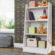 Estante Infantil Multiuso Montessoriano Branco - Art In Móveis