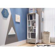 Módulo Organizador com Gaveta Children´s House Branco - Art in Móveis