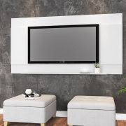 Painel Parede Tv Seattle Branco - Art In Moveis