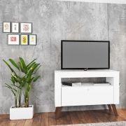 Rack Tv Até 36' Toronto Branco - Art In Moveis
