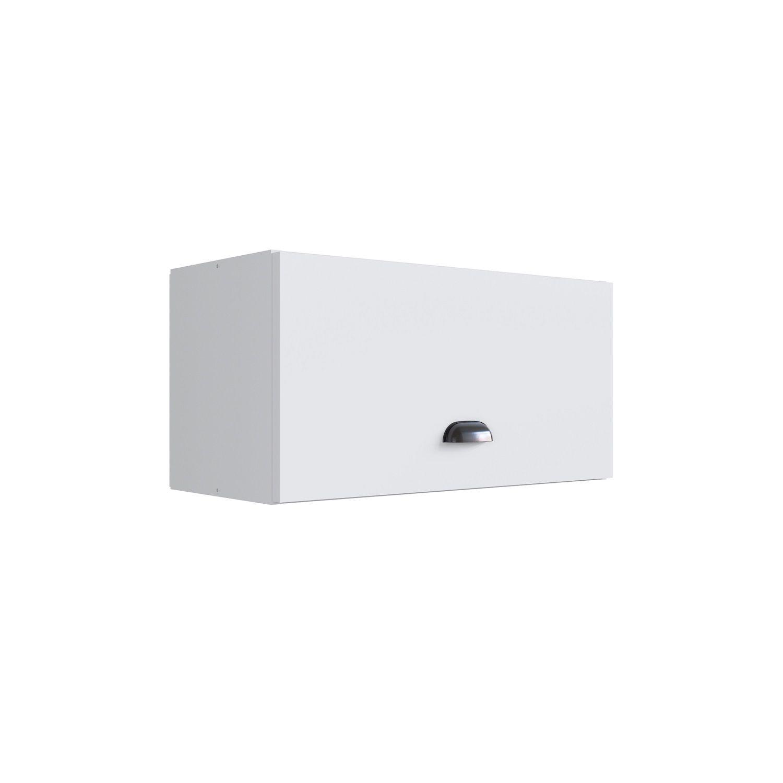 Aéreo 1 porta Basculante Retrô Mia Coccina Branco - Art In Móveis