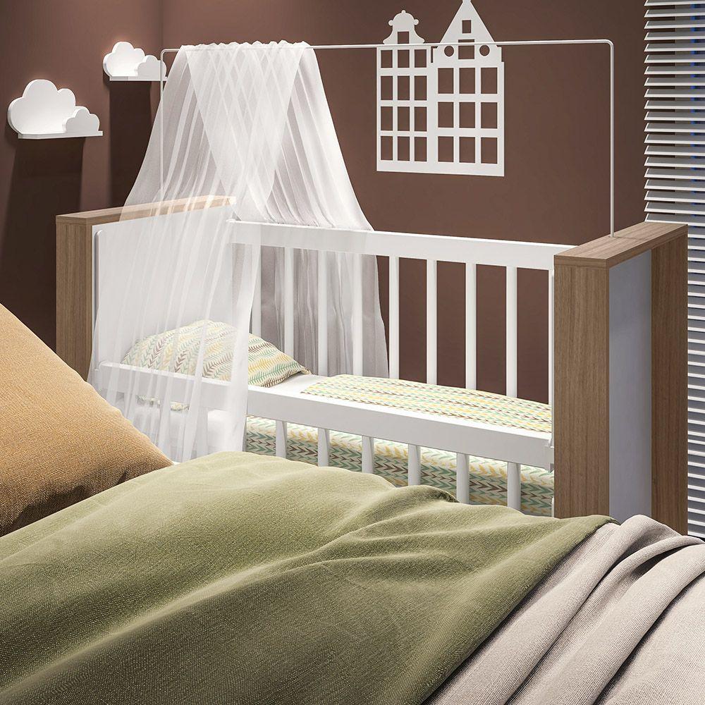 Mini Berço Infantil Bedside Sleepers Gominha Multifuncional Montana - Art In Móveis