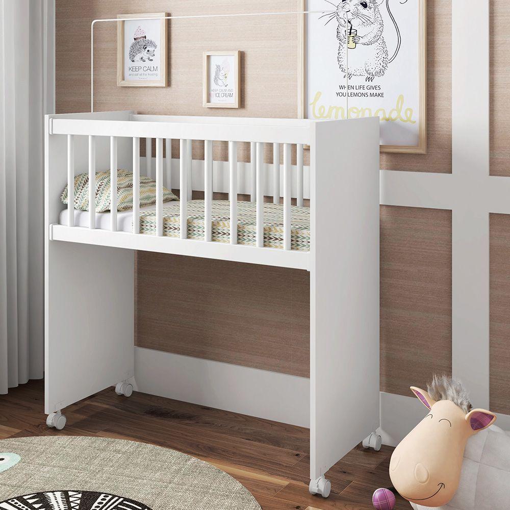 b4c853c9f13 Comprar Berço Infantil Bedside Sleepers Soneca Alto Branco - Art In ...