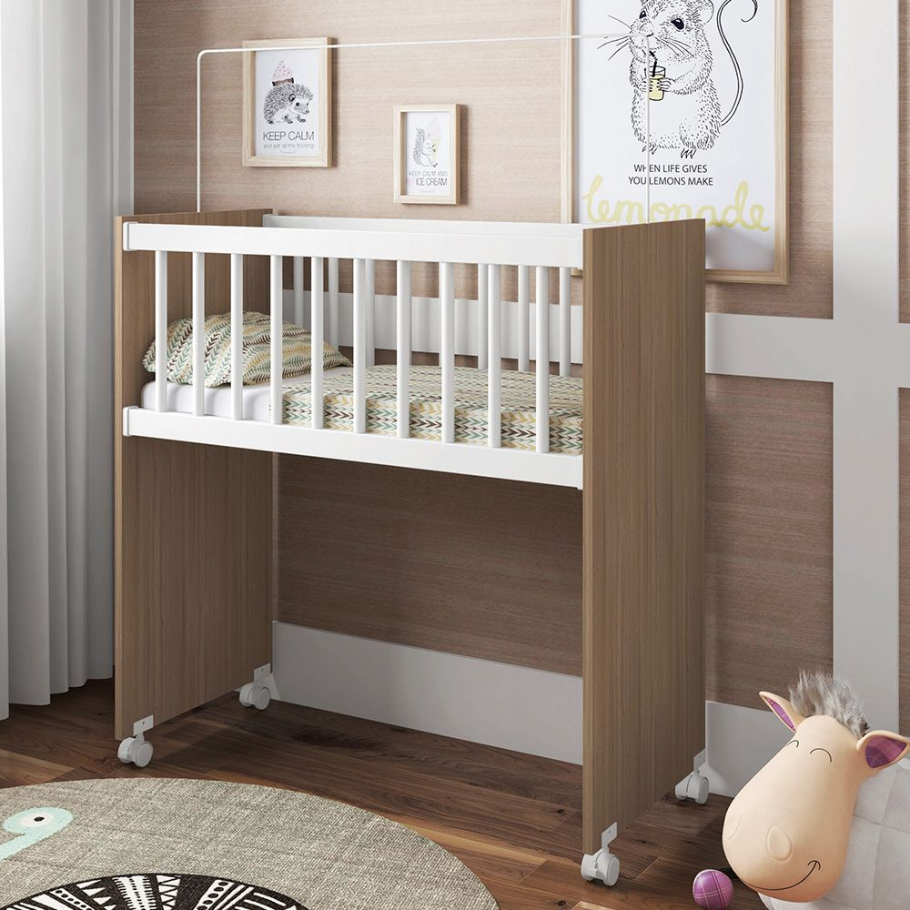 Mini Berço Infantil Bedside Sleepers Soneca Alto Montana - Art In Móveis
