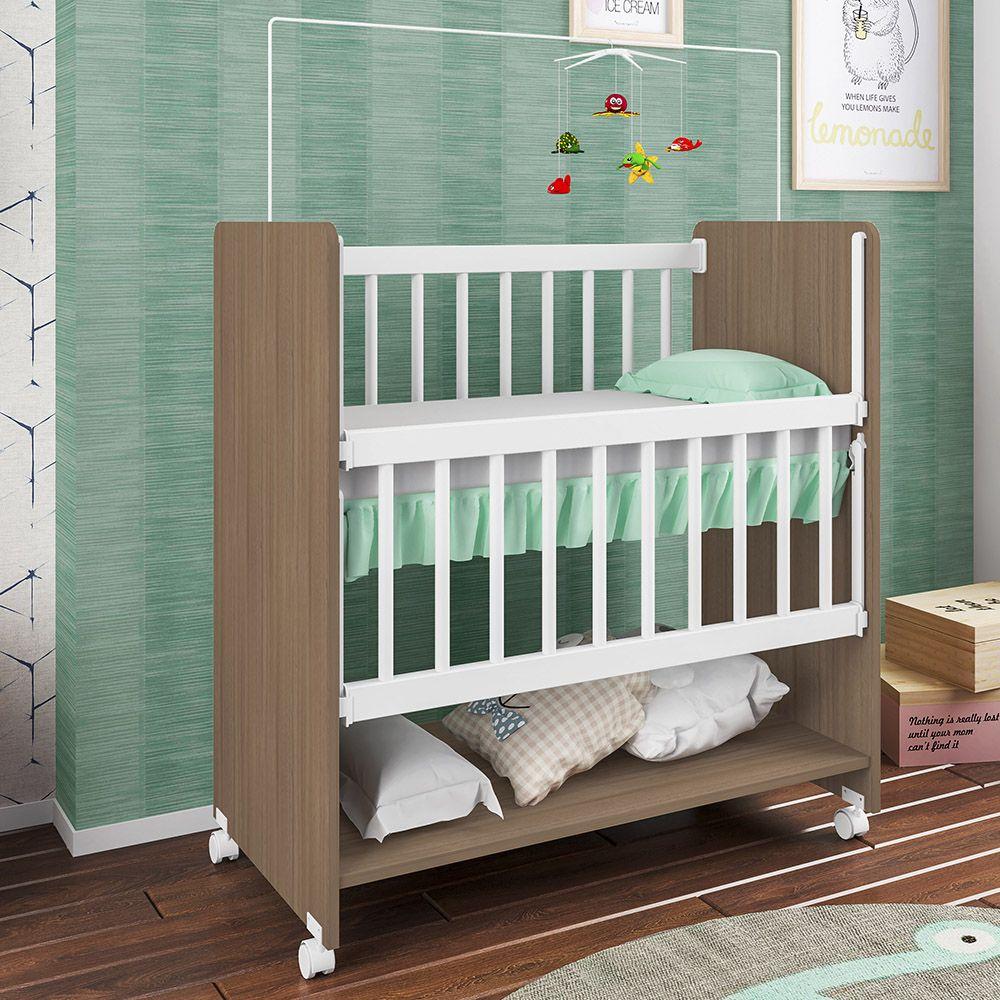 Mini Berço Infantil Bedside Sleepers Soninho Alta Montana - Art In Móveis