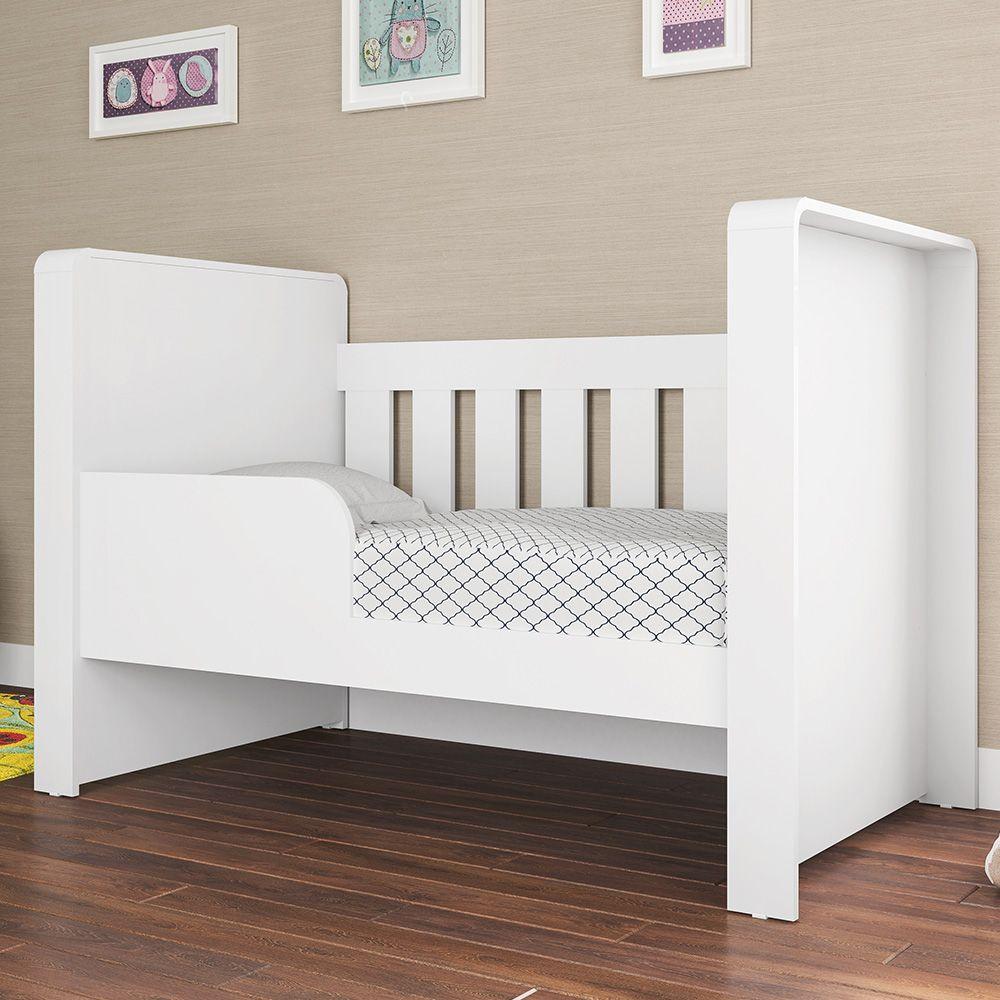 Berço Doce Cheiro Americano Infantil Cama Branco - Art In Móveis