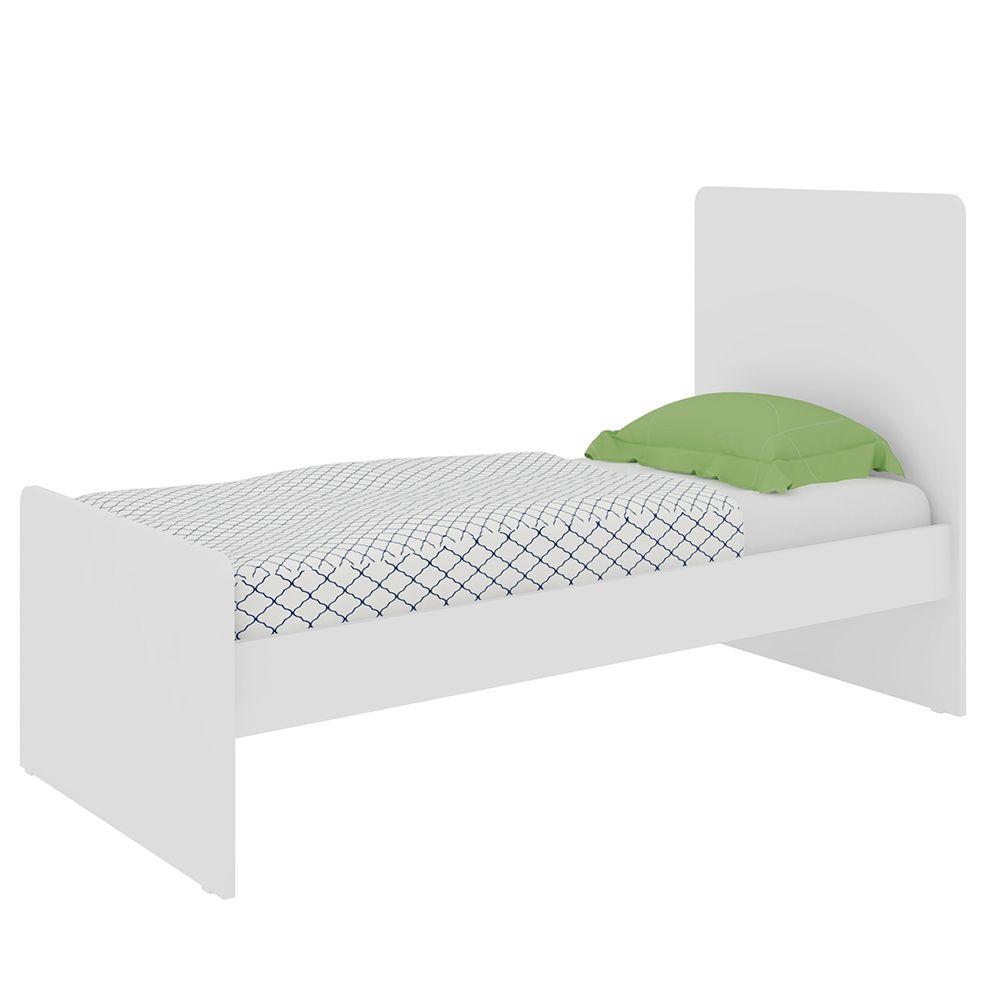 Berço Mini Cama Infantil Compacto Branco - Art In Móveis