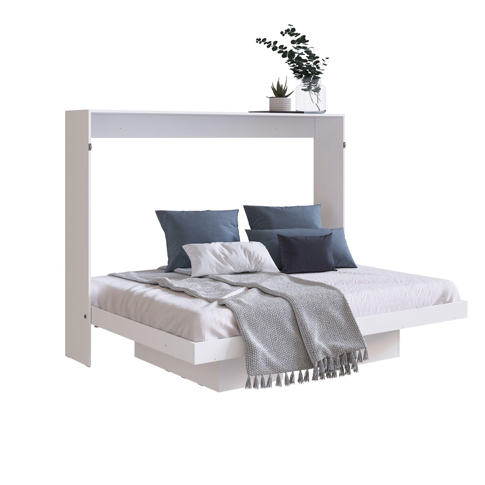 Cama Articulável Horizontal de Casal 140 Branco - Art in móveis
