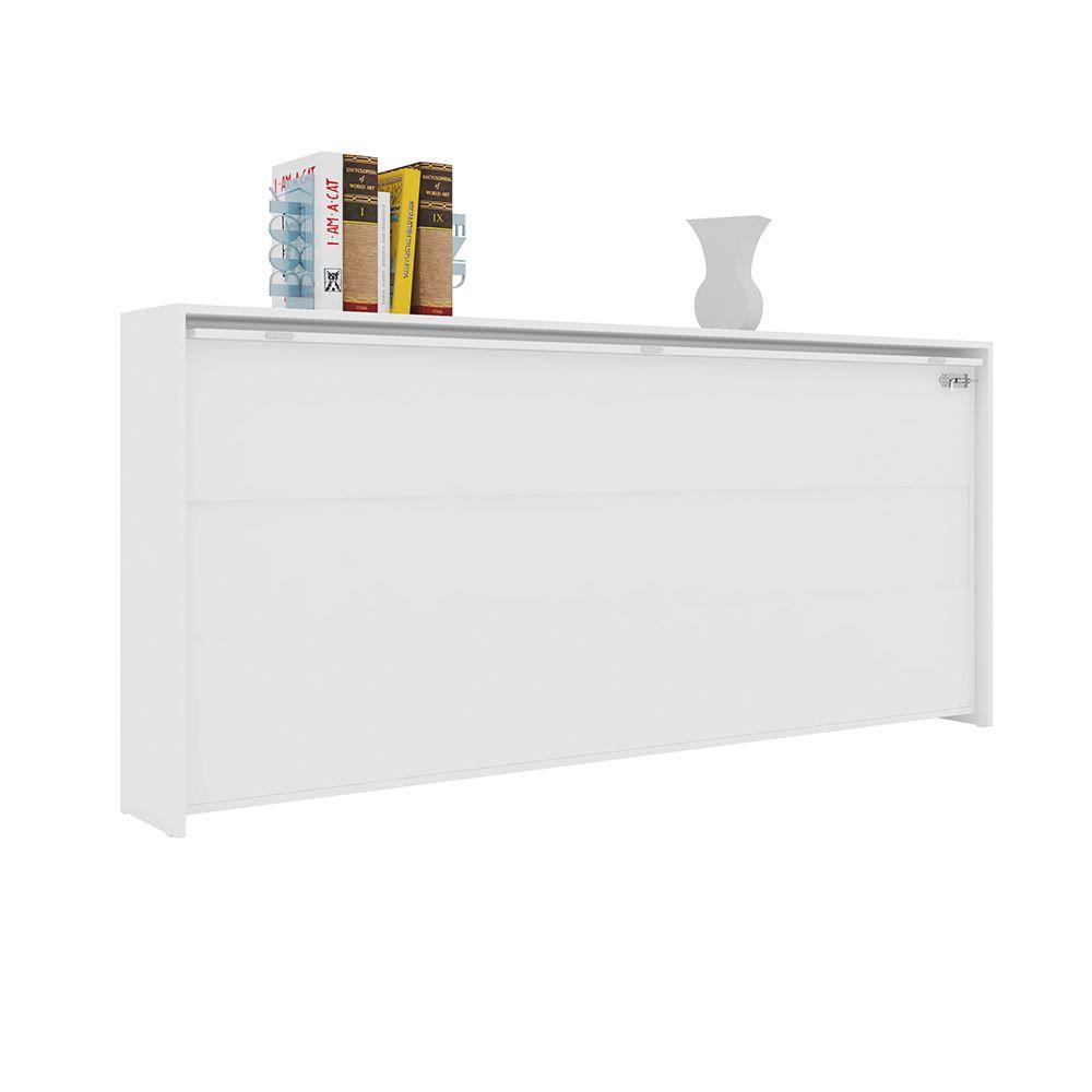 Cama Articulável Quarto Solteiro Sun Branco 90 - Art In Móveis