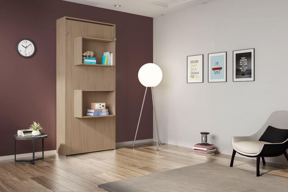 Cama Multifuncional Articulável Solteiro Manhattan Montana - Art in móveis