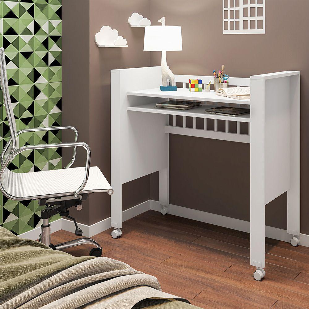 Mini Berço Infantil Bedside Sleepers Gominha Multifuncional Branco - Art In Móveis
