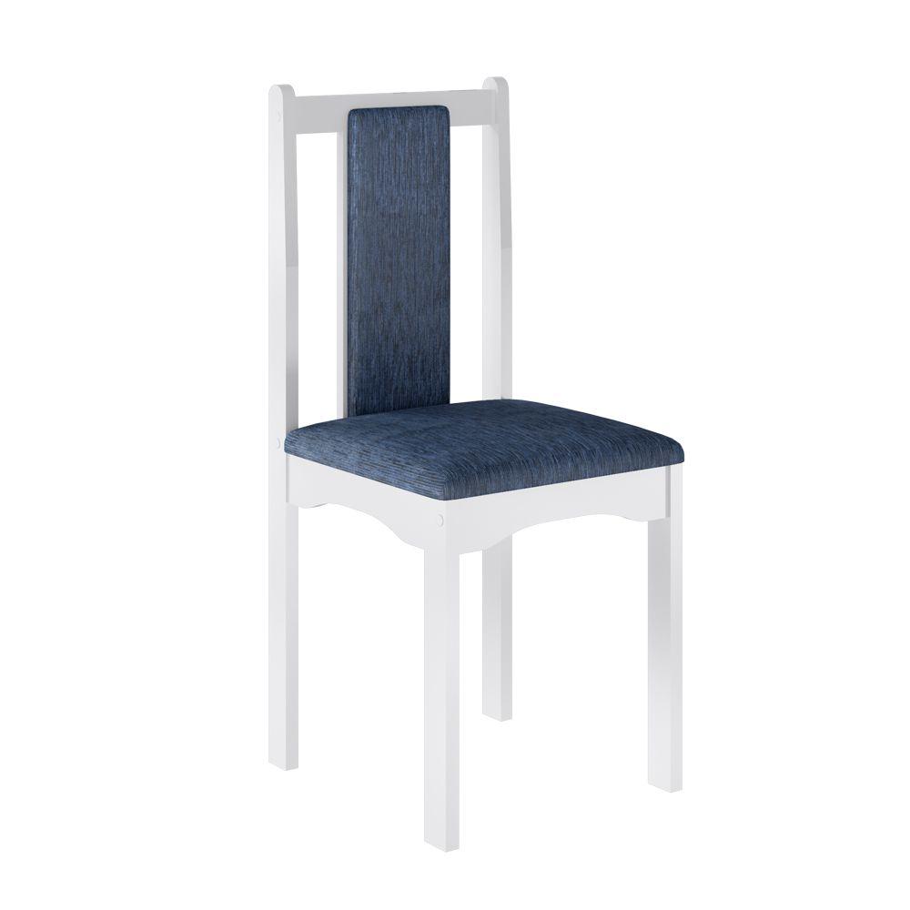 Jogo Veneza 2 Cadeiras Branco - Art in Móveis