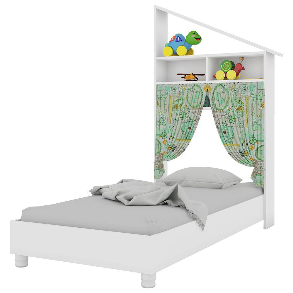 Mini Cama Infantil Montessoriano Branco - Art In Móveis