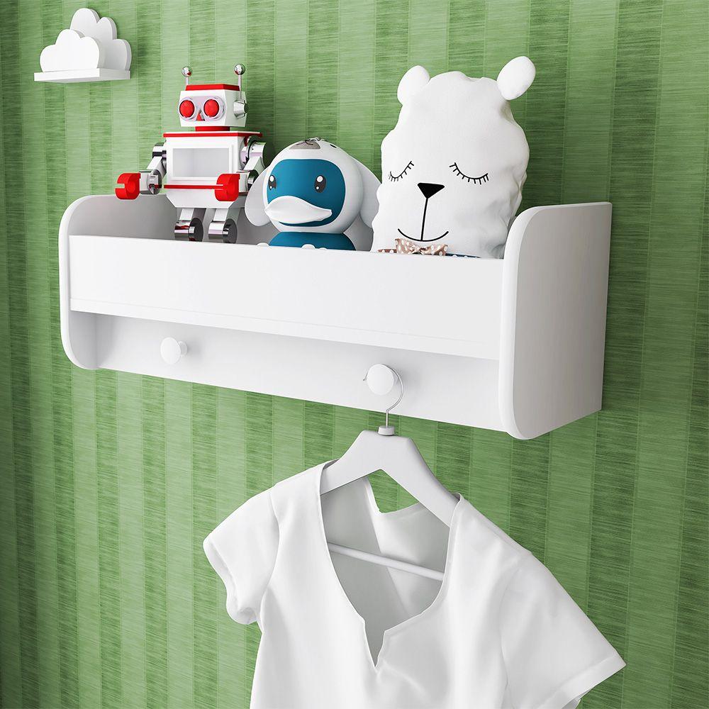 Nicho Montessoriano Quarto Infantil Branco - Art In Móveis