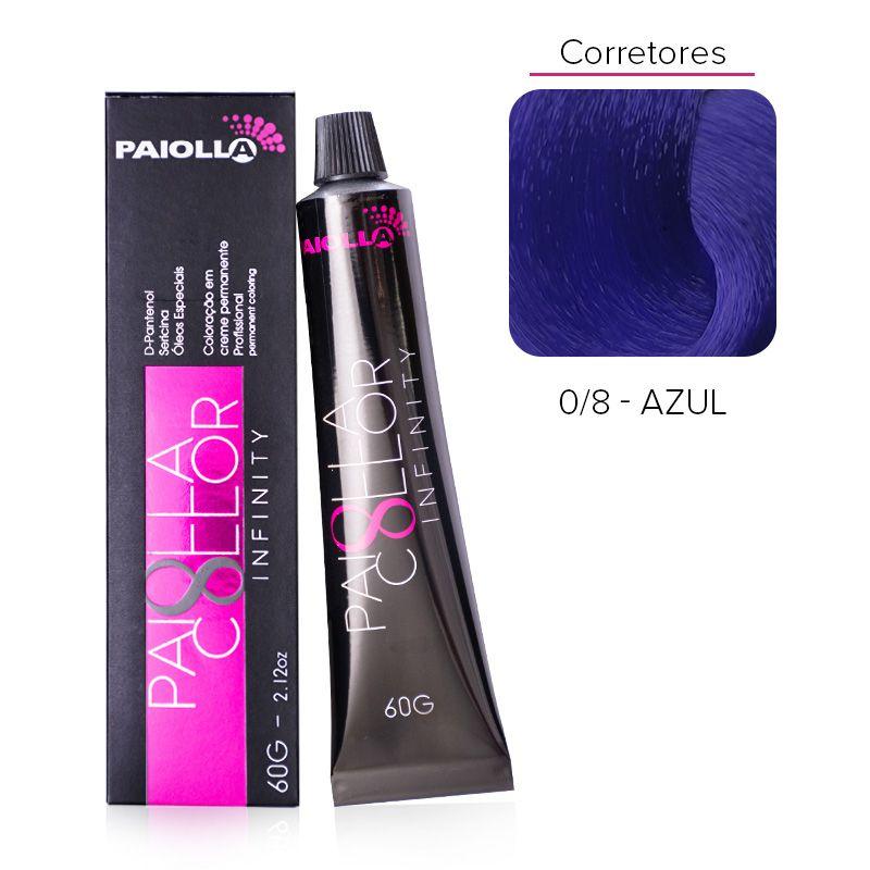 0.8 Corretor Azul - Coloração Paiolla Collor Infinity
