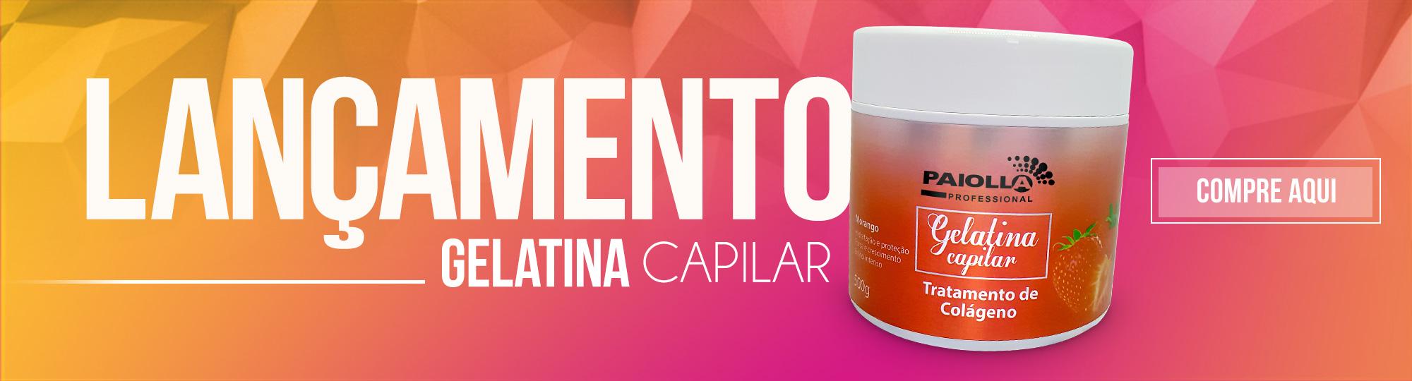 Gelatina Capilar - Tratamento de Colágeno