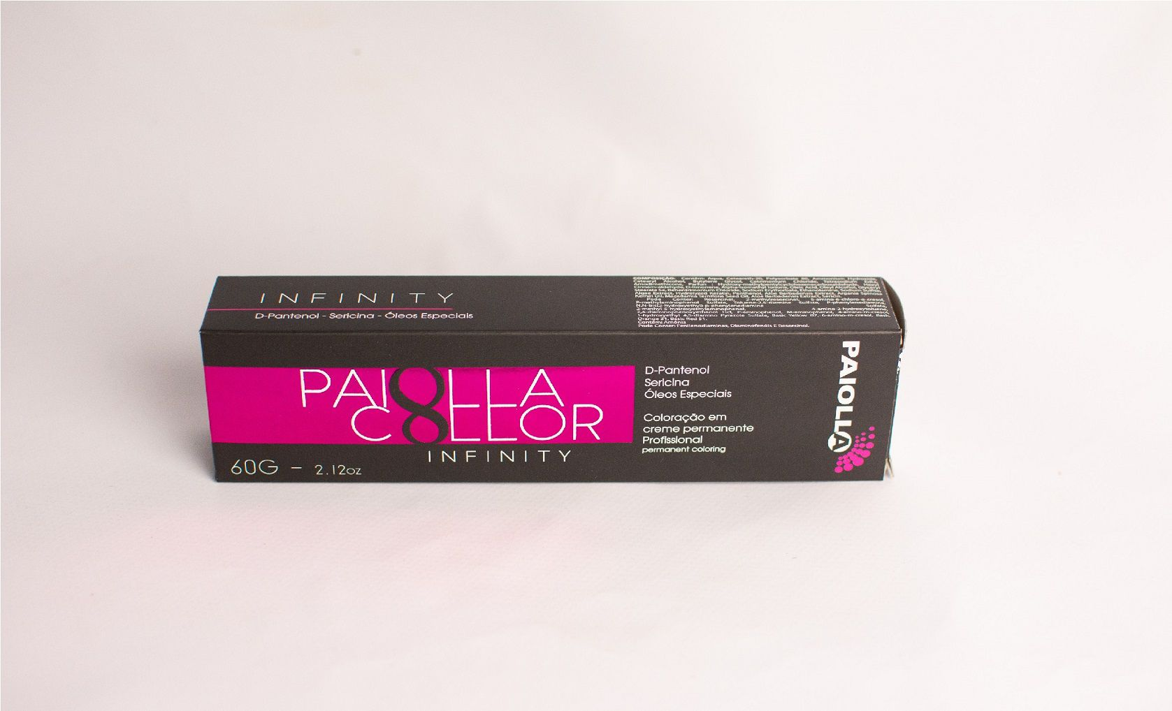 1.0 Preto - Coloração Paiolla Collor Infinity
