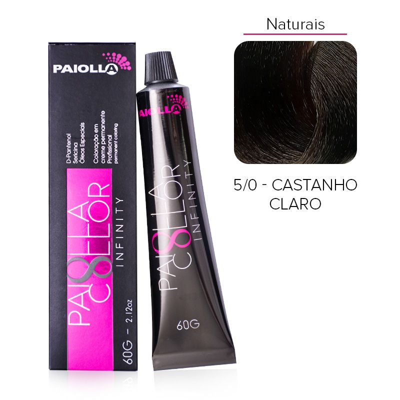 5.0 Castanho Claro - Coloração Paiolla Collor Infinity
