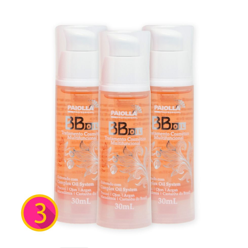 COMBO - 3 BB Oil - Hidratante Capilar