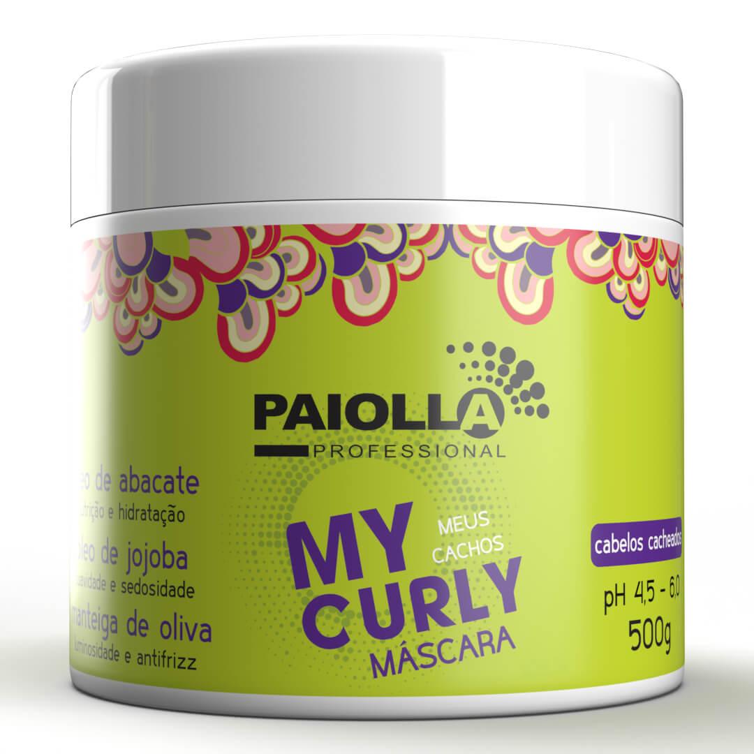 COMBO de Hidratação para Cabelo Cacheado - My Curly