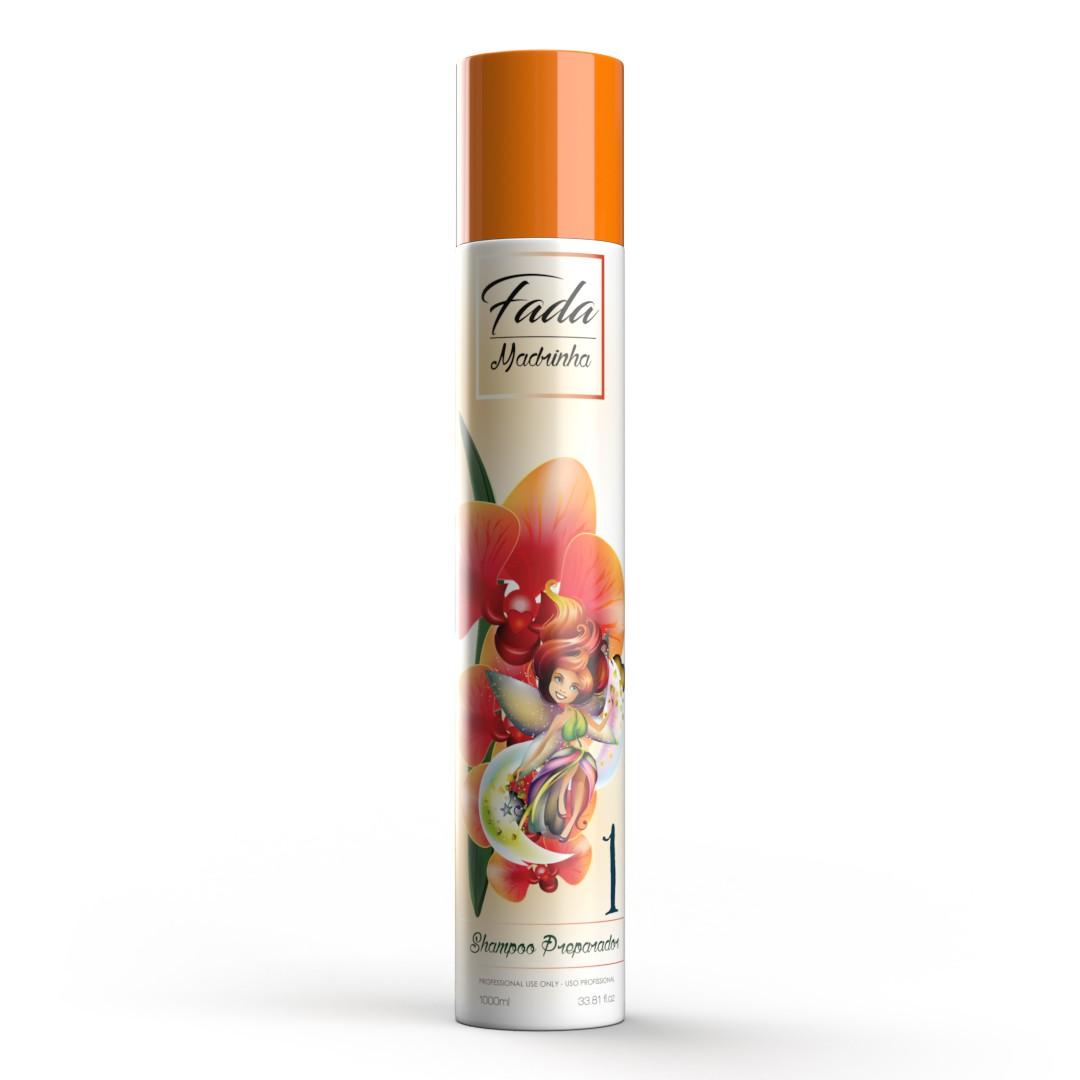 COMBO Escova Progressiva Fada Madrinha + Shampoo 1L