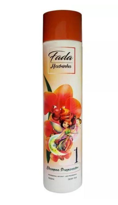 Combo Escova Progressiva Fada Madrinha + Shampoo