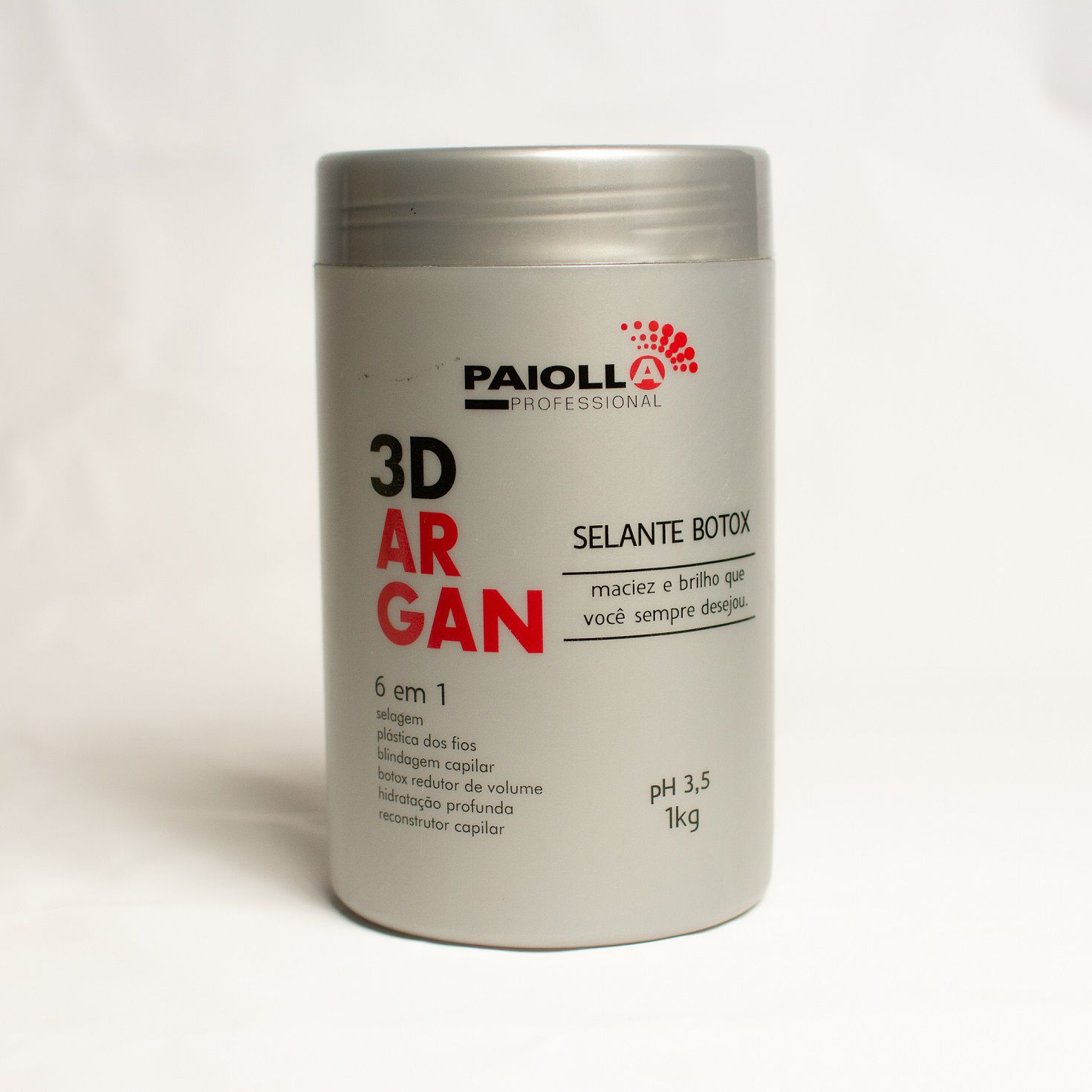 COMBO Escova Progressiva Sem Formol Bambu + Selante Botox 3D Argan