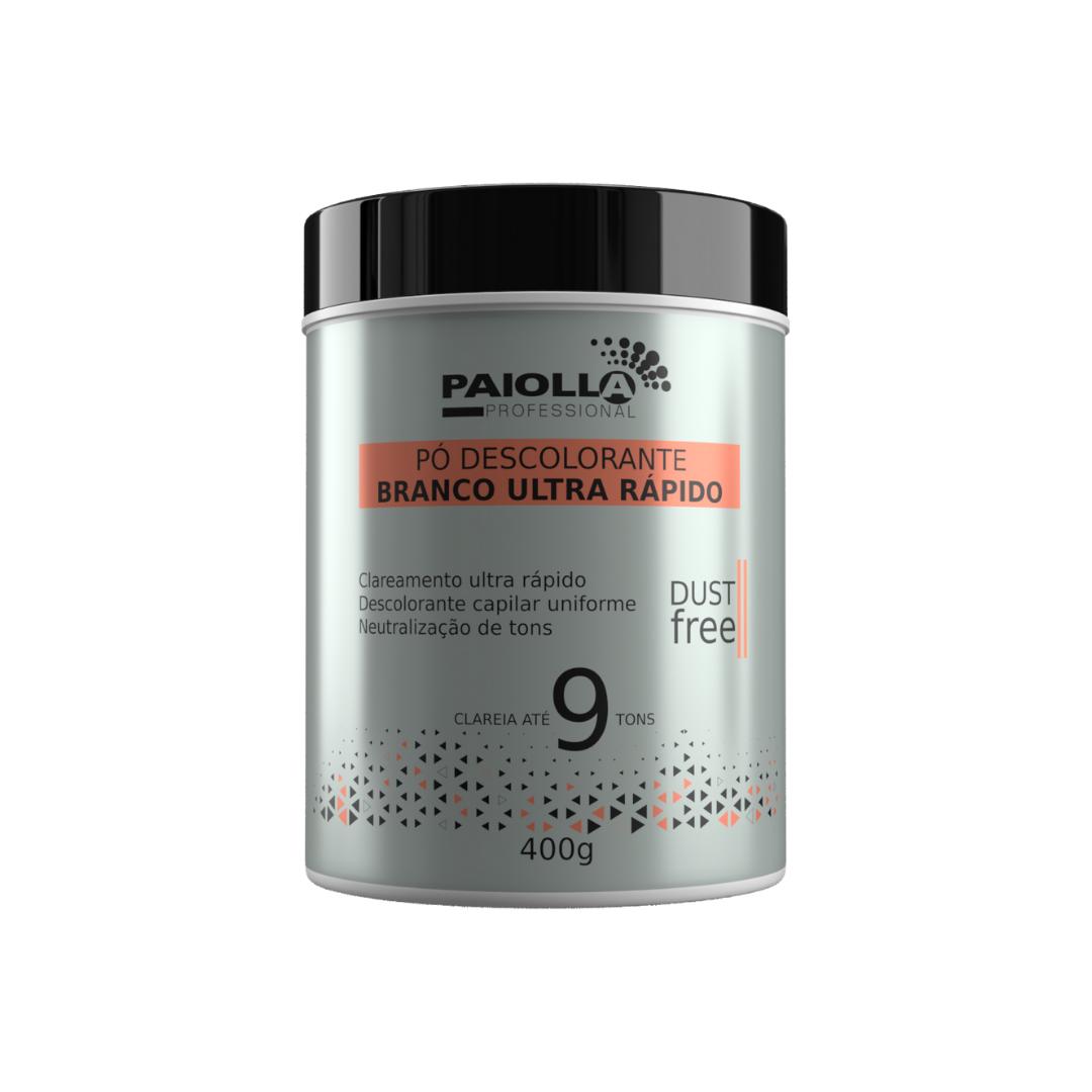 COMBO Pó Descolorante Branco 9 tons + Creme Oxidante Estabilizado 10 volumes